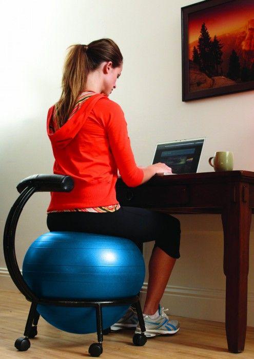 Gdy Nie Chcesz Typowego Krzesła Biurowego Biuro Bez B 243 Lu